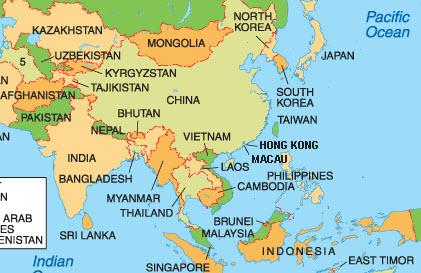 Asia – Coastshop.net – World travel advice